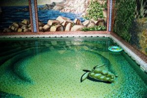 мозаика для бассейна фото 37