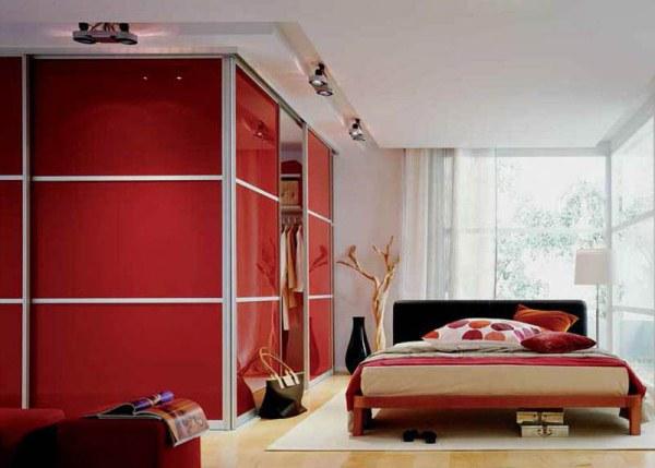 угловой шкаф купе в спальню фото 13