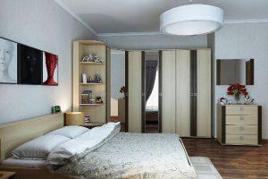 угловой шкаф купе в спальню фото 27