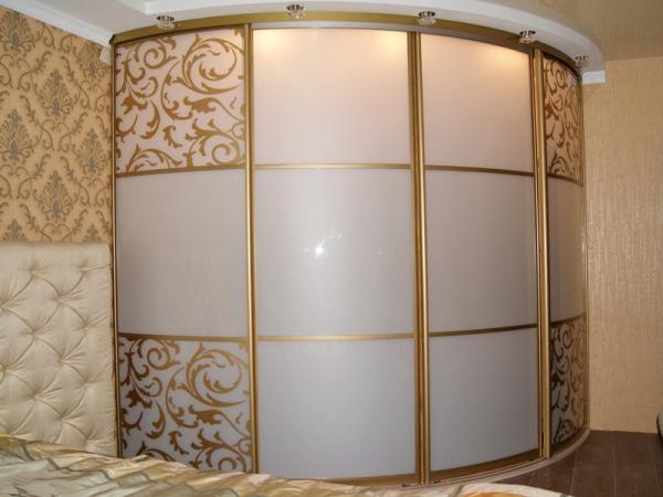 угловой шкаф купе в спальню фото 4
