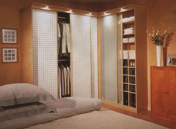 угловой шкаф купе в спальню фото 6