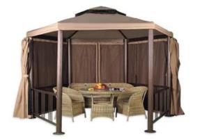 шатер для отдыха с москитной сеткой