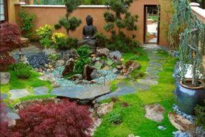 сад в японском стиле фото 21