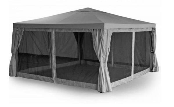 шатер для отдыха с москитной сеткой фото 4
