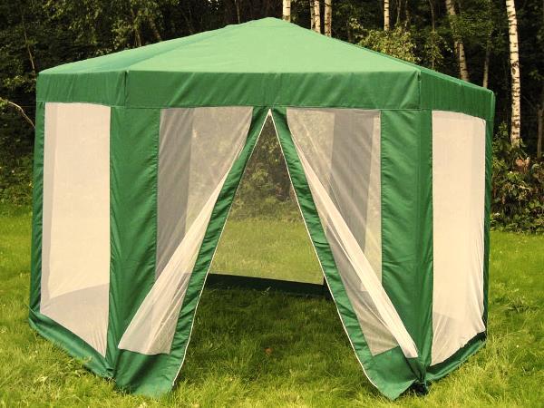 шатер для отдыха с москитной сеткой фото 6