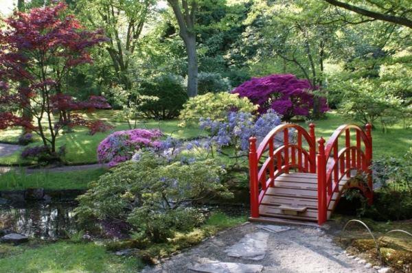 декоративный мостик для сада своими руками фото 10