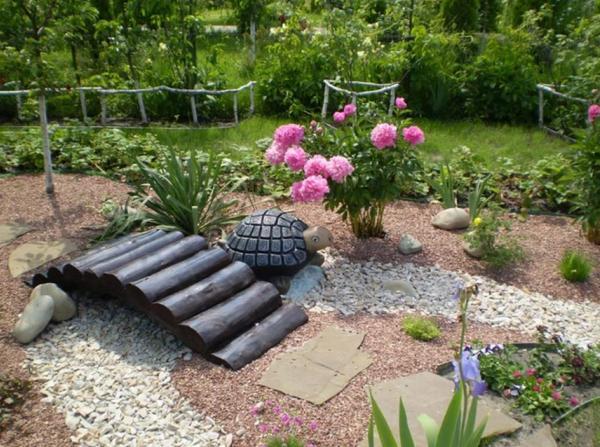 декоративный мостик для сада своими руками фото 14