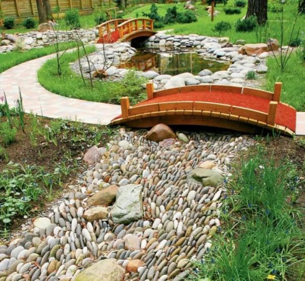 декоративный мостик для сада своими руками фото 15