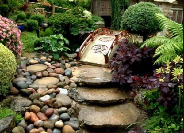 декоративный мостик для сада своими руками фото 16
