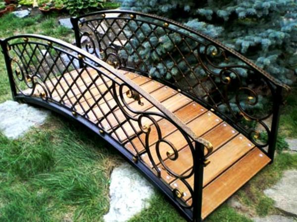 садовые мостики фото