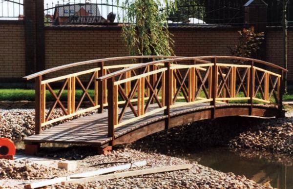 декоративные мостики для сада фото