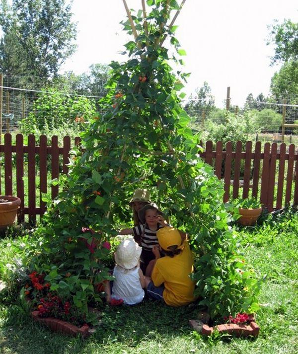 детский домик на даче своими руками фото 13