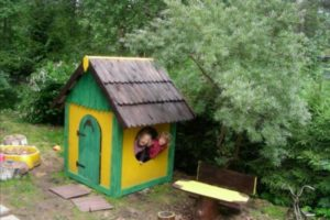 детский домик фото 26