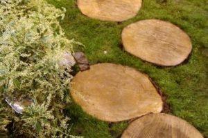 дорожка из дерева фото 12