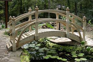 мостик для сада