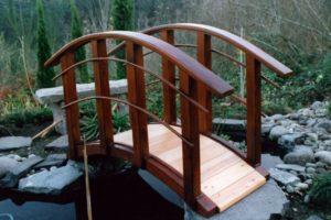 мостик в саду фото 11