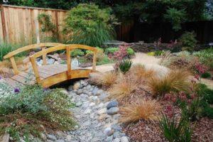 мостик в саду фото 12