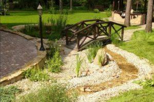 мостик в саду фото 14