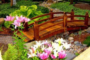 мостик в саду фото 18