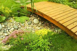 мостик в саду фото 19