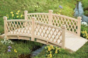 мостик в саду фото 2