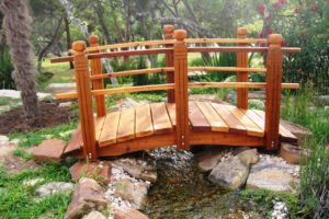 мостик в саду фото 20