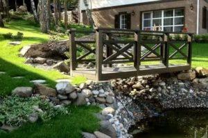 мостик в саду фото 22