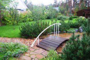 мостик в саду фото 24