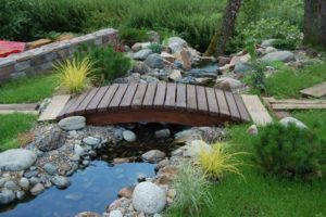 мостик в саду фото 25