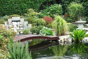 мостик в саду фото 27
