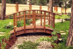 мостик в саду фото 3