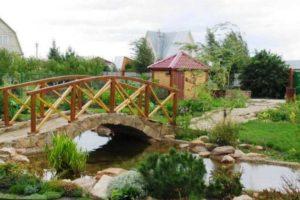 мостик в саду фото 30