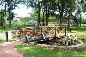 мостик в саду фото 31