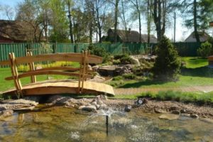 мостик в саду фото 32
