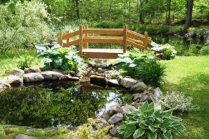 мостик в саду фото 33