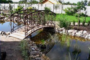 мостик в саду фото 34