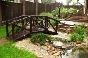 мостик в саду фото 35