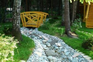 мостик в саду фото 36