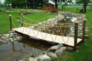 мостик в саду фото 37
