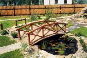 мостик в саду фото 38
