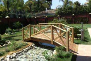 мостик в саду фото 39