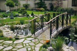 мостик в саду фото 4