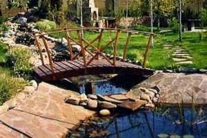 мостик в саду фото 40