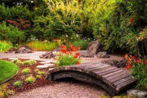 мостик в саду фото 5