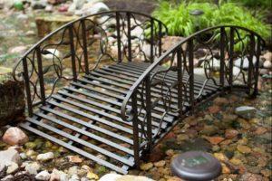 мостик в саду фото 6