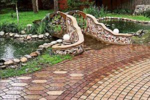 мостик в саду фото 8