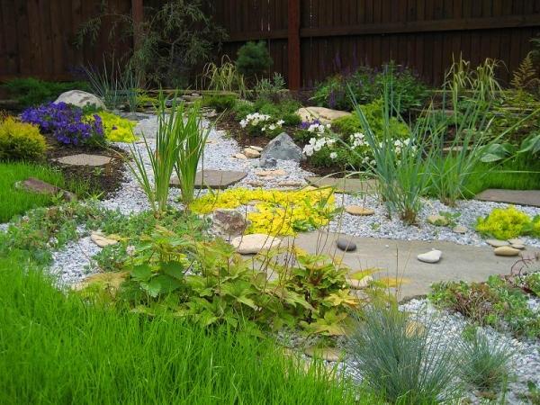 сухой ручей в ландшафтном дизайне фото 7