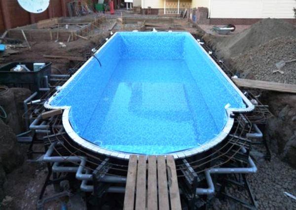 бассейн на даче фото 11