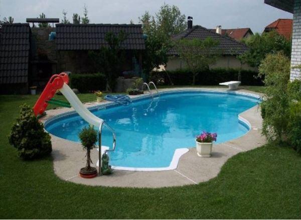 бассейн своими руками фото на даче