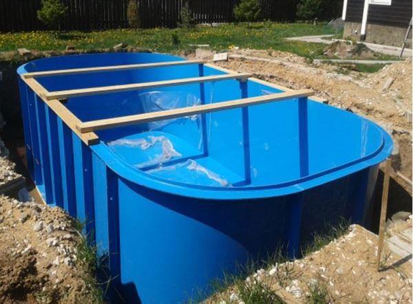 бассейн на даче фото 5